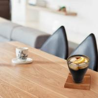 Buy cheap special shape and type light up coaster tea cup coaster for new arrival and trend sell from wholesalers