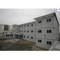 Buy cheap Modern Prefabricated Conex Box Homes as Office , Rockwool Panelized from wholesalers