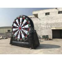 Buy cheap Giant Inflatable Football Dart Board Outdoor Sports Games For Sale from Wholesalers