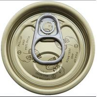 Buy cheap 300# tinplate easy open end, EOE,tin can lids from wholesalers