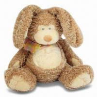 Buy cheap Baby Toy in Bunny Rabbit Shape, Various Designs and Colors are Available, Stuffed/Plush from wholesalers