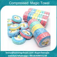 Buy cheap Magic tissue coin towel tablet compressed towel from wholesalers