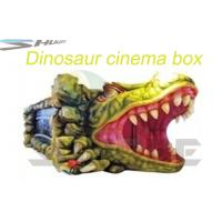 Buy cheap Removable Mobile 5D Cinema With Hydraulic / Pneumatic System Motion Theater Chair product