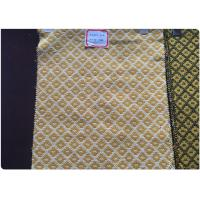 Buy cheap Plaid Tweed Jacquard Wool Fabric Yellow White Soft Comfortable In Stock from wholesalers