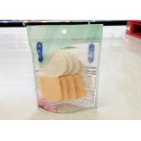 Buy cheap Face Cosmetic Puff Laminated Packaging Bags 33*34 CM Size Customized Logo from wholesalers