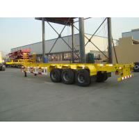 Buy cheap 40ft 20ft container chassis semi trailer for sale - CIMC VEHICLE from wholesalers
