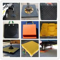 Buy cheap uhmw pe plastic stabilizer pad for crane / rv utility blocks / pad for RV outriggers from wholesalers