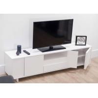 Buy cheap Classic Modern TV Stand Furniture With MDF White Color 47cm Height / 39.5cm Width from wholesalers