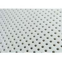 Buy cheap White PP Perforated Metal Mesh 1300mm *2000mm Chemical Resistant from wholesalers