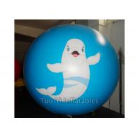Buy cheap Fish Personalised Printed Balloons Round Cartoon Inflatable Spheres from wholesalers