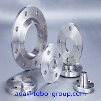 Buy cheap ANSI B16.5 F 304 304L Forged Steel Flanges RF BL Flange ASTM A 182 A 240 product