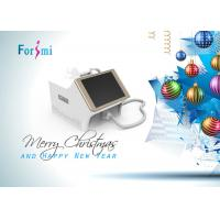 Buy cheap Merry Christmas! Pure White Portable 808nm Diode Laser Hair Removal Machine For You! from wholesalers