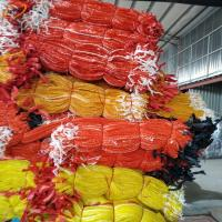China Packing PP vegetable net bag / Potato Garlic Fruit Orange Firewood Mesh bag / onions bags on sale