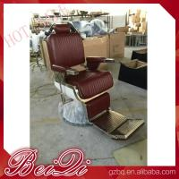 Buy cheap Luxury hair salon furniture barber styling units reclining hairdressing chair for sale product