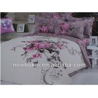 Buy cheap bedding sets,embroidery polyester quilt polyester quilted bedspread,filling with cotton or polyester from wholesalers