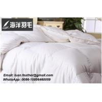 Buy cheap Wholesale custom hotel white king bed duck feather and down duvet inners from wholesalers