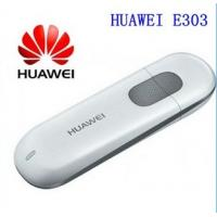 Buy cheap Unlocked 7.2Mbps HUAWEI E303 3G HSDPA Modem And 3G USB Modem PK E220 E1750 E1550 E3131 from wholesalers