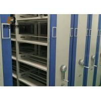 Buy cheap 3-Point Key Lock Mobile Shelving Unit For Museum / Hospital from wholesalers
