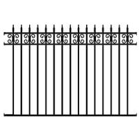 Buy cheap Wrought Iron Fence Panel from wholesalers