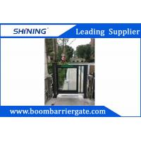 Buy cheap DC Motor Vehicle Entrance Security Barrier Gate With Anti-Crash Function from wholesalers