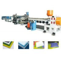 Buy cheap 200kg/H Hollow Grid Board Extrusion Line , Automatic Dry Feeding from wholesalers