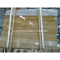 Buy cheap Wooden Onyx Marble Slabs from wholesalers