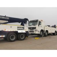 Buy cheap Double Rear Axles Wrecker Tow Truck , Towing 16 Ton 6 x 4 Drving from wholesalers