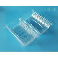 Buy cheap Disposable plastic fruit container cake packaging box bake packaging box food grade PET food packaging contaier FDA EU from wholesalers