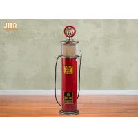 Buy cheap Red MDF Wooden Gas Pump / Floor CD Rack 5 Layers from wholesalers