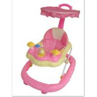 Buy cheap music baby toy walker with canopy and push bar from wholesalers