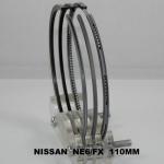 Buy cheap 7000 c.c. Line-honing sr20det Piston Ring Set Nissan NE6 / FX , U.S.A Spec 12040-95029 from wholesalers