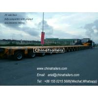 Buy cheap heavy duty transport,modular trailer,Goldhofer THP/SL model modular trailer,hydraulic multi axle trailer from wholesalers