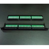 Buy cheap 1U 48Port Cat5e/Cat6 Patch Panel from wholesalers