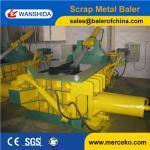 Buy cheap Good quality Scrap Metal Baler to press waste copper & aluminum Steel Copper Light Metal scrap from wholesalers