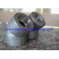Buy cheap SW, 3000LB,6000LB  ANSI B16.11 Forged Pipe Fittings Butt Weld Elbows from wholesalers