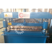 Buy cheap PLC Metal 12m / Min Roofing Sheet Roll Forming Machine from wholesalers