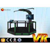 Buy cheap HTC VIVE Flying Shooting Game 9D VR Cinema Interactive Indoor Electric System from wholesalers