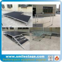 Buy cheap Outdoor aluminum modular stage for pillars truss system from wholesalers
