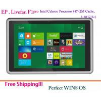 Buy cheap Livefan F1 pro 64-bit Tablet PC Win8 OS Intel Celeron Processor 847 Dual Core 4G RAM  from wholesalers