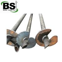 Buy cheap helical pile for construction building commercial deep foundation from wholesalers