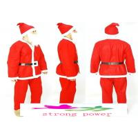 Buy cheap 8 Piece Father Christmas SANTA COSTUME FATHER CHRISTMAS QUALITY PLUS SIZE CLAUS SUIT from wholesalers