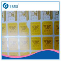 Buy cheap Die Cut Vinyl Stickers , Silk Screen Fragile Labels For Car / Motorcycle from wholesalers