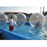 Buy cheap Movable Inflatable Human Water Ball Plato Tarpaulin Outdoor Zorbing Ball from wholesalers