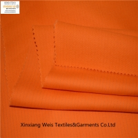 Buy cheap 100 Cotton 210gsm Orange Anti Static Fire Retardant Fabric Electricity Industry from wholesalers