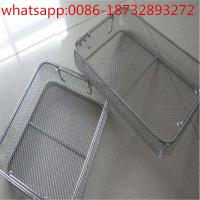 Buy cheap disinfect basket/metal basket/stainless steel wire basket/wire mesh baskets from factory price from wholesalers