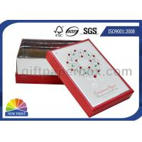 Buy cheap OEM Rigid Paper Gift Box with Diamond Decorated / Cardboard Gift Box with Lid from wholesalers