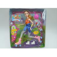 Buy cheap Role Playing Children's Play Toys Barbie Fashion Doll With 11 Movable Joints from wholesalers