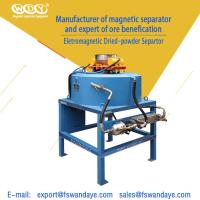 Buy cheap Mineral Processing Magnetic Separator Machine Magnetic Field Strength 3T from wholesalers