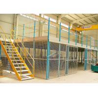 Custom Rack Supported Mezzanine , Flexible Logistics Storage Multi Level Mezzanine