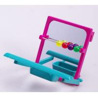 Buy cheap bird cage perch with mirror plastic bird toy for budgies from wholesalers